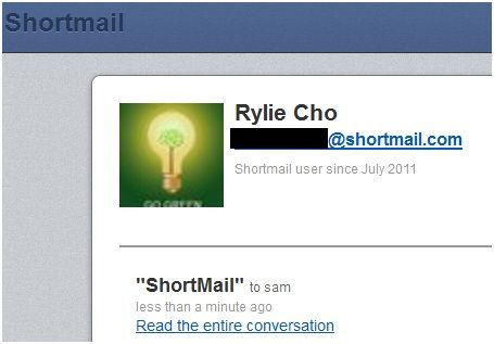 simplified email