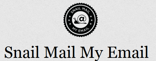 snailmailmyemail   SnailMailMyEmail: Send A Handwritten Letter To Any Place In The World