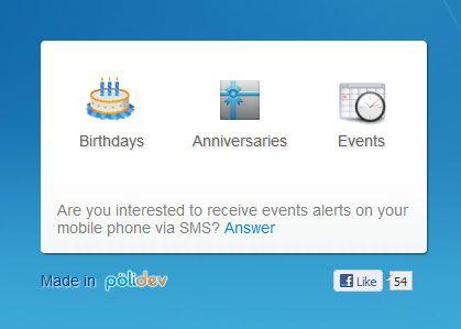 manage birthdays