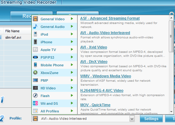 Streaming Video Recorder: Download & Convert Any Streaming Video From Popular Websites  (15 Free Licenses) streaming video recorder2