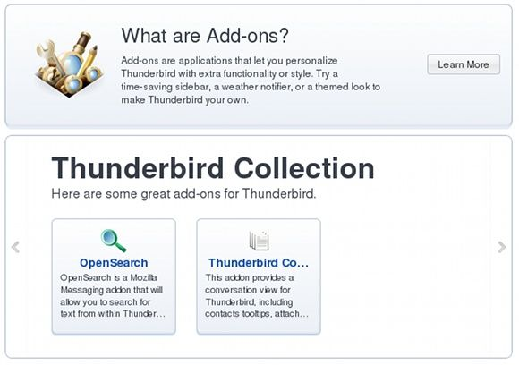 thunderbird 5 review