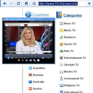 Watch Dozens of TV Channels On Your Chrome Browser With TV Chrome