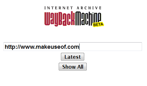 internet wayback machine