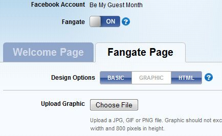 facebook page welcome tab