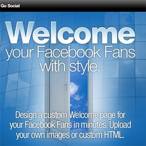 Easily Create A Custom Tab For Your Facebook Page With Welcome Applet