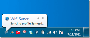 wifi syncr
