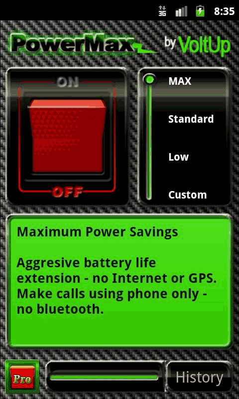 power management app for android