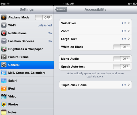 tips and tricks for ipad