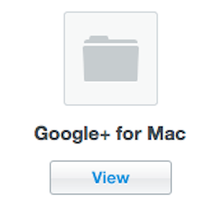 Google+ Application For The Mac Released [Mac]