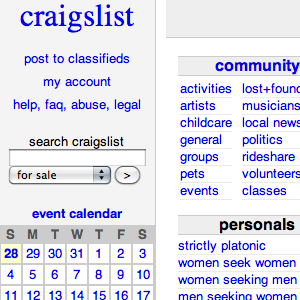 4 More Search Engines to Search All of Craigslist