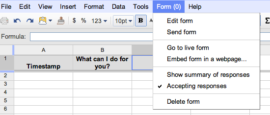 How to Add a Google Docs Contact Form to Your Blogger Blog Img6