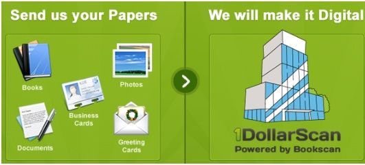Sendpage   1DollarScan: Digitize Your Paper Documents