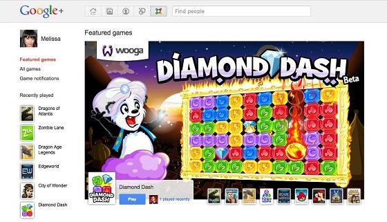 Google+ Games Rolls Out To Selected Users [News] Untitled
