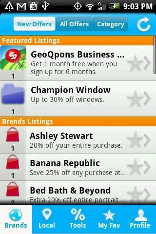 coupon apps for droid