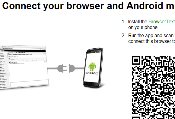 send texts from browser