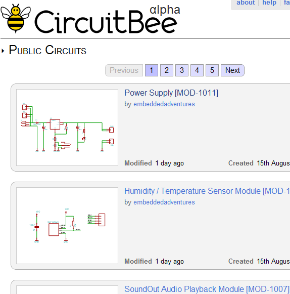 share electronic circuits