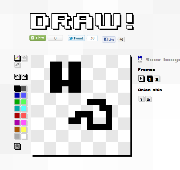 draw animated pictures