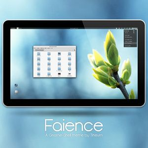 Faience: One Of The Best Gnome Shell Themes Yet [Linux]