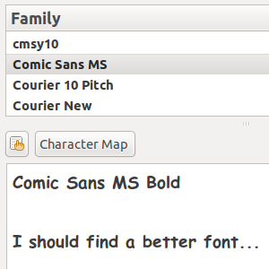Manage & Compare Fonts Easily With Font Manager [Linux]