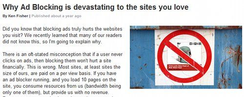 Are Ad Blocking Browser Extensions Killing The Internet?
