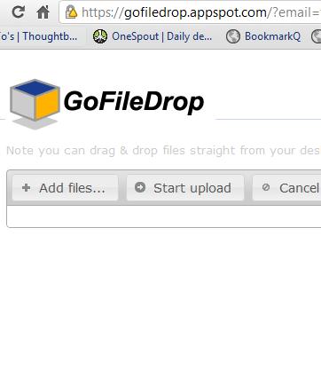 drag and drop files to google docs