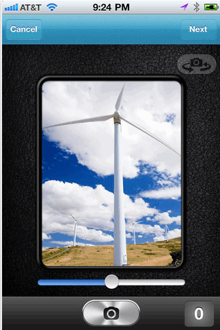 create animated images iphone