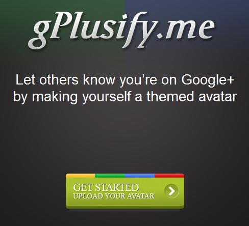 create google+ avatar