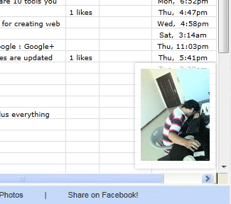 disguise facebook as excel
