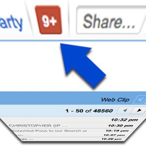 How To Hide Google Plus Message Count Icon From All Google Services