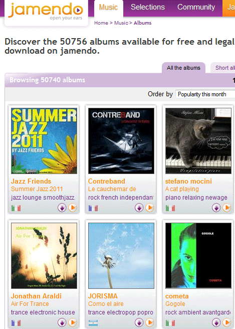 jamendo   Jamendo: Share Your Music With Fans For Free