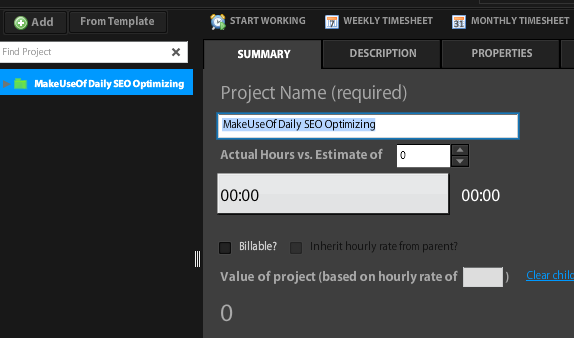 time productivity tracking