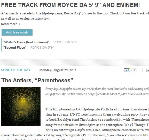 google music blog