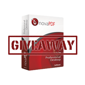 The Perfect PDF Solution: novaPDF Professional [Giveaway]
