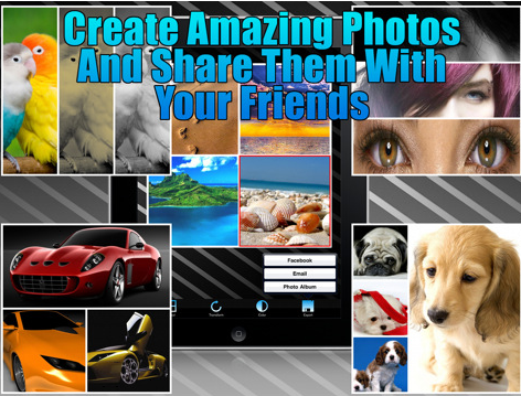 create photo collages iphone