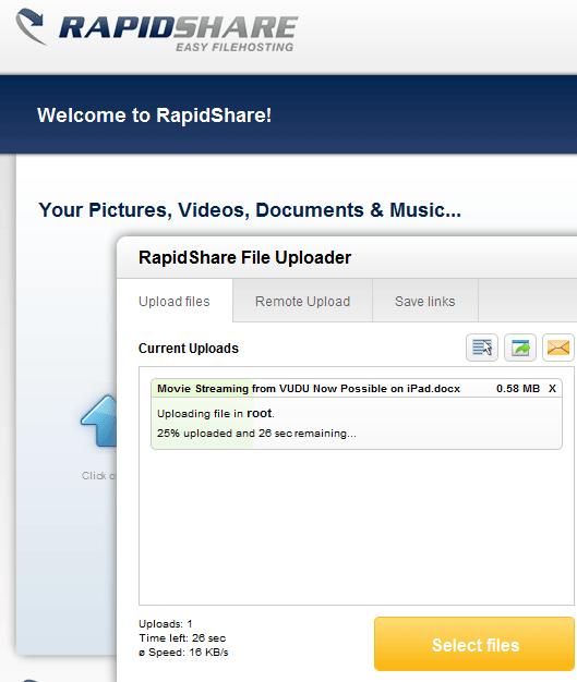 online file hosting