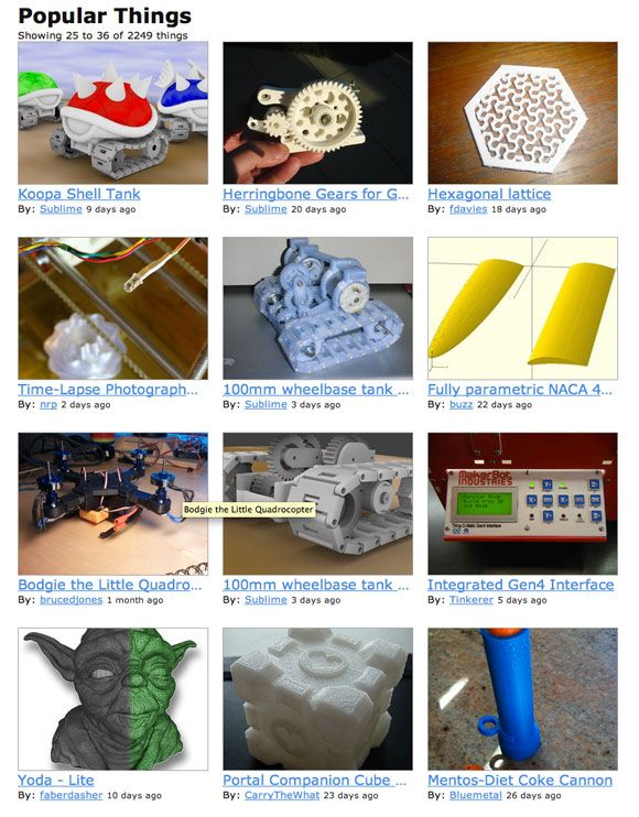build your own 3d printer