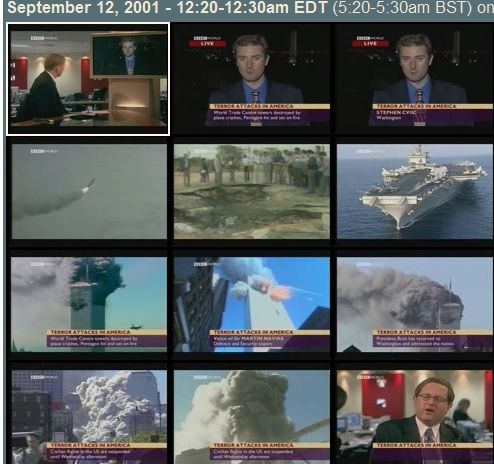 thumbs   Understanding 9/11: An Online Archive Of Television News Reports Regarding 9/11