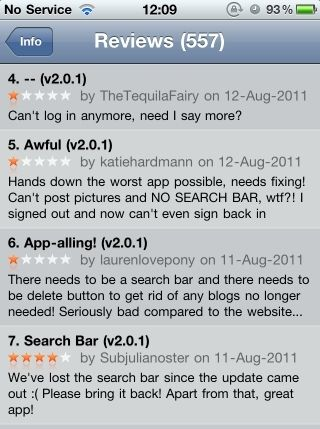 ios reviews