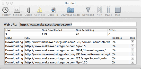 1052   Sitesucker: Download Whole Websites To Your Mac
