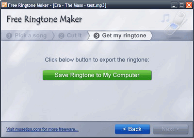 convert music files to ringtones