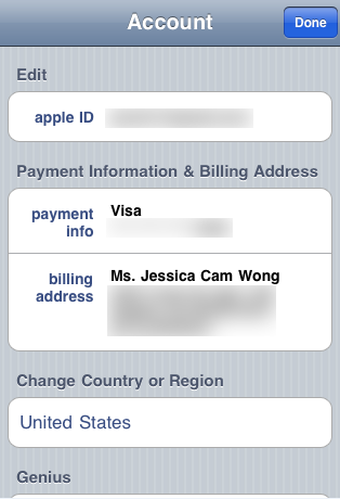 change apple id on iphone