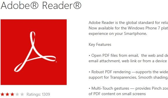 Windows Phone Marketplace: Find & Download Apps For Your Windows Phone Adobe