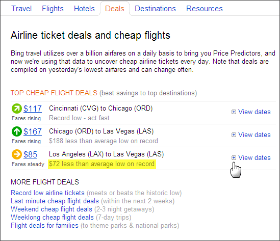 dirt cheap airfare