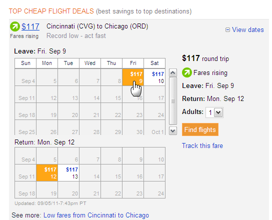 cheap airfare tickets