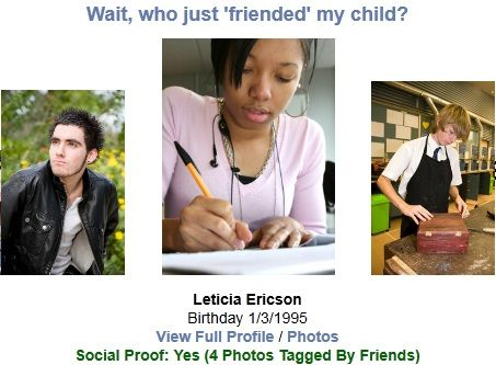 protect children on facebook