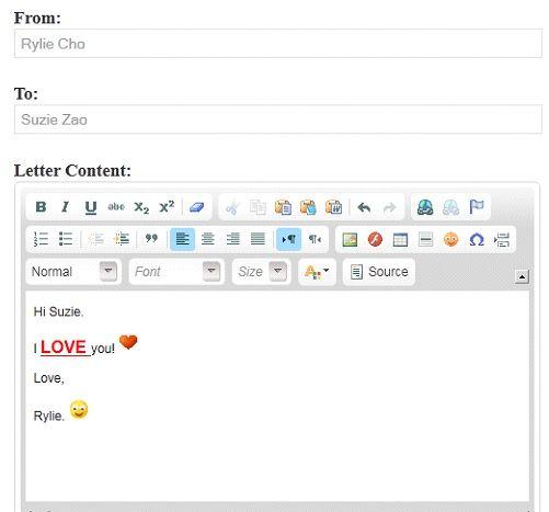 publish open letters
