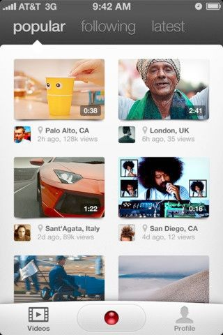 share mobile videos