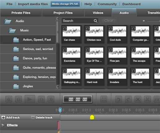 WeVideo   WeVideo: Collaborative Video Editing Service Online