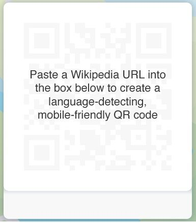 qr code for wikipedia