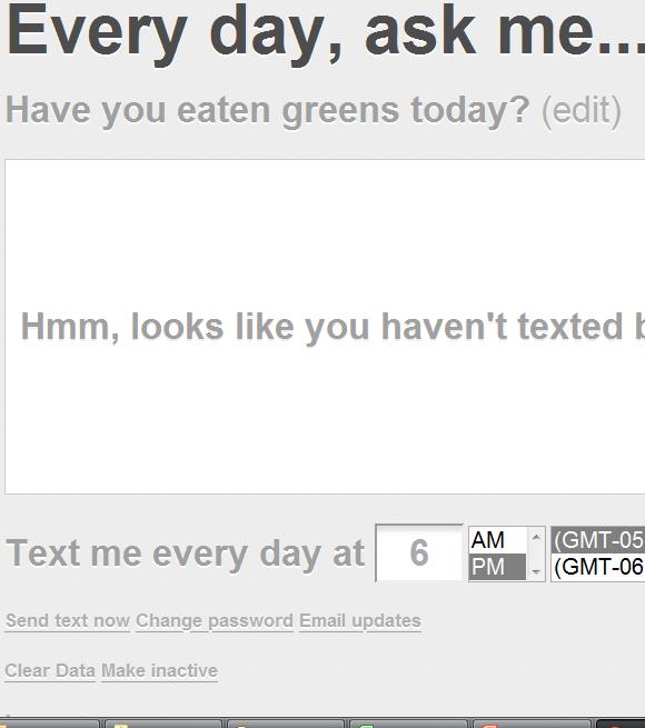 data via sms